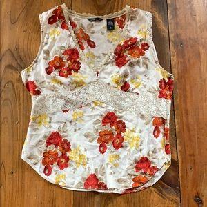 New York & Company silk camisole top